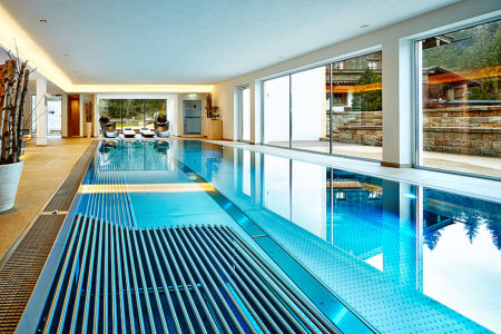 Indoor Wellnessbereich