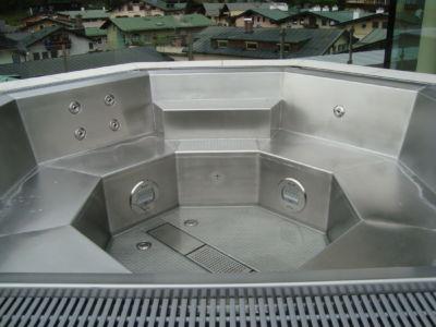 Edelstahlwhirlpool