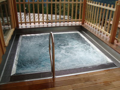 Outdoorwhirlpool