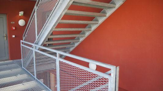 Stahlbau Treppe