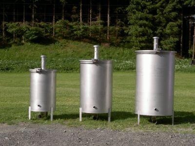 Quellsammler rund 100, 170 und 350 Liter